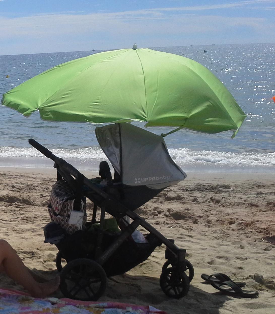 El carrito de bebé: Uppa Baby Vista