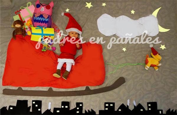Fotos divertidas y originales con beb s 5 navidad disfruti - Postales de navidad con fotos de ninos ...