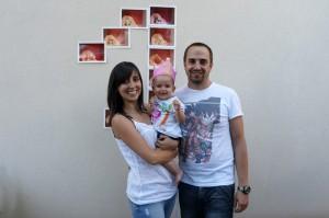 primer cumpleaños-familia