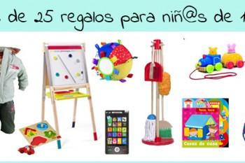 Más de 25 ideas de regalos para niños de un año