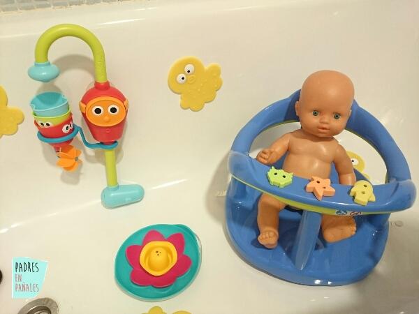 Asiento de ba era para los beb s usos for Asiento para bebe