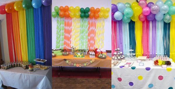 Para los cumplea os globos de helio padres en pa ales - Como decorar un cumpleanos ...