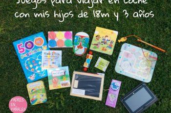 30 ideas para entretener a los niños en un viaje: juegos y juguetes