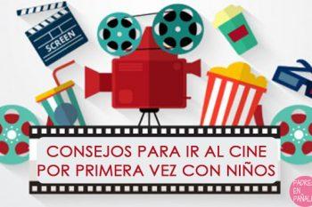Ir al cine con niños por primera vez: recomendaciones