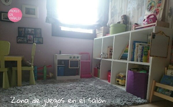 Zona de juegos para niños en el salón de casa - Disfruti