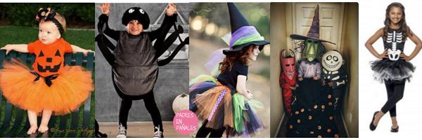 Disfraces de ni os para halloween padres en pa ales - Disfraz halloween casero ...