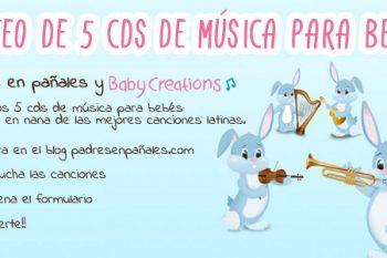 Ventajas de ponerles música a los bebés CON SORTEO