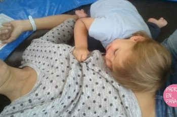 Exterogestación: La necesidad contacto bebé-mamá y piel con piel