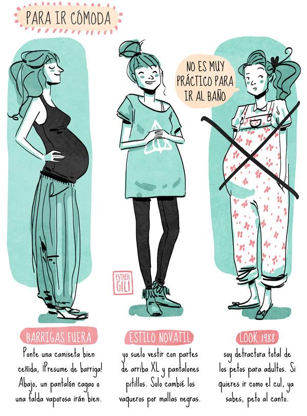 Se embarazada de empieza barriga cuando la notar a