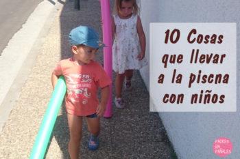 Tardes de piscina con niños: 10 cosas que tienes que llevar
