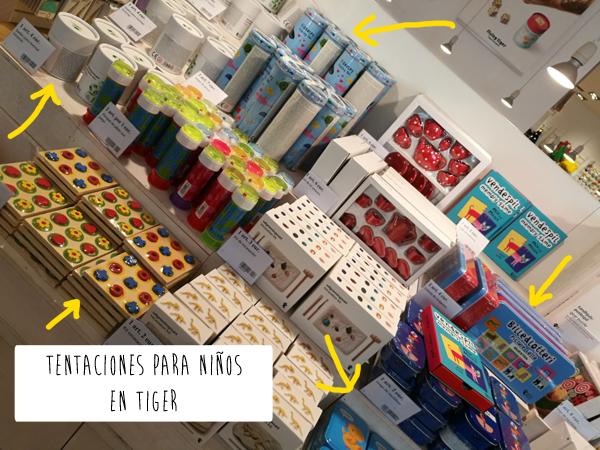 Tentaciones De La Tienda Tiger Para Ninos Disfruti