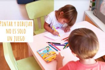 Pintar y dibujar no es solo un juego: beneficios del dibujo para los niños