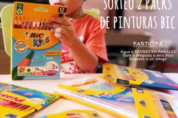 Sorteo de 2 packs de pinturas BIC para los niños