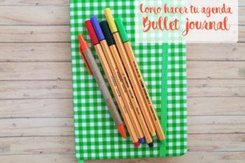 Mi agenda personalizada Bullet Journal