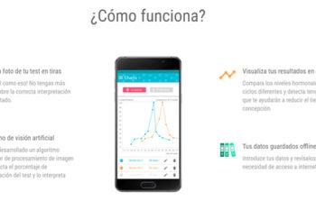 """Encuentra tus días fértiles con la app """"Fertility test Analyzer"""""""