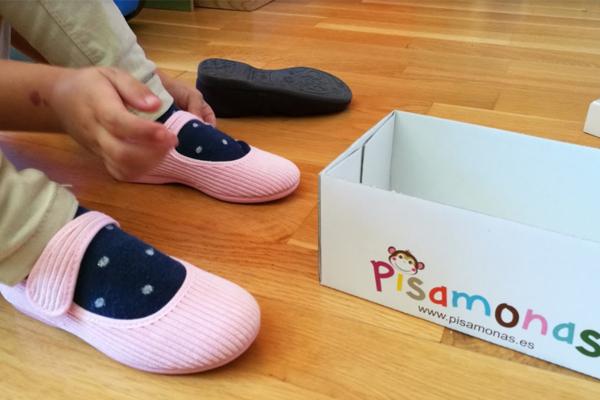 Pisamonas zapater a infantil que llega a zaragoza disfruti for Casas zapatos ninos