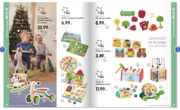 Ya llegan los juguetes de madera de lidl 2017 disfruti for Cocina lidl madera