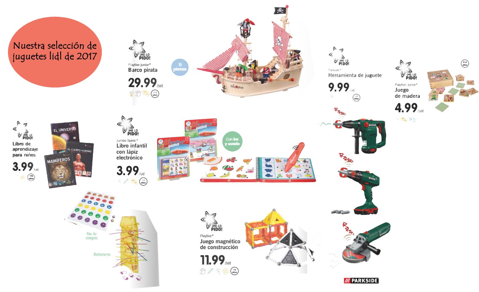 Ya llegan los juguetes de madera de lidl 2017 padres en for Catalogo lidl leon