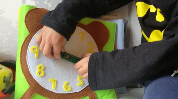 Regalo para niños mayores de 4 años: Su primer reloj Disfruti