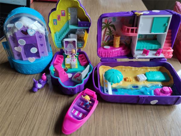 Nuevas casitas de Polly Pocket