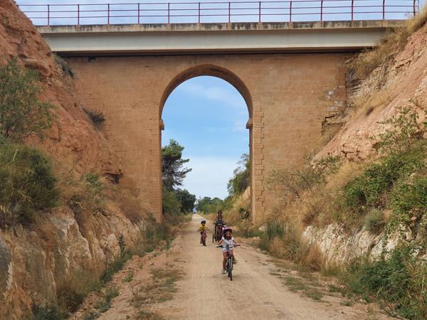 Val del Zafán, vía verde Teruel