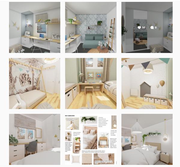 Instagram de Interiorismo Online